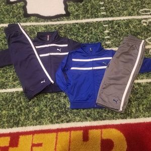 2 sets of Puma Toddler 2-Piece Active Tracksuits